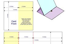 Card templates and tutorials / folding instructions