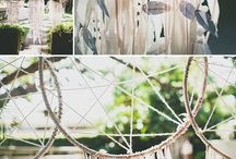 Bohemian Wedding Inspiration / A Bohemian theme has always appealed to me. So we thought we would post some really pretty images that suit this theme to help our brides out there.