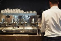 Espresso machines of Italy / The espresso machines of the best bars in Italy