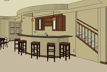 Basement & Bar designs / finished basement