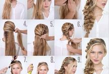 Hair --> step by step