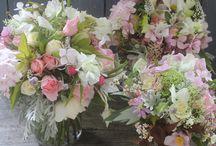 Garden {Cut Flowers} / A board filled with cut flowers.  / by Bren Haas