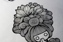 Pen&Ink drawings