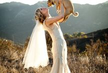 Pets & Weddings / Invite your pet to your wedding. Cute dog wedding photos for your special day.