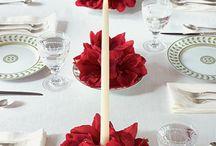 Asztaldekor: kreatív