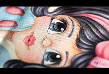 Videos  de Pintura em tecido Eliane Nascimento