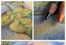 Art with colored pencils