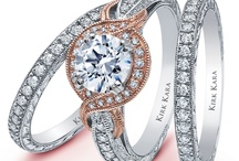 Kirk Kara Bridal / Platinum and 18karat Bridal jewelry for any and every bride.