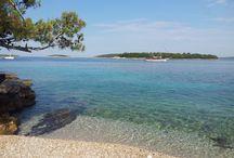Islas cerca de Split en velero. Croacia
