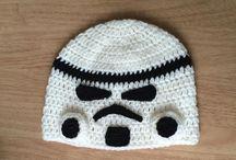 Learn how to crochet storm trooper hat