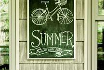 """Those Lazy-Hazy-Crazy Days Of Summer"" / Summer reminders / by Denise Lachinski"