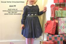 Girls Dresses / Beautiful girls day dresses that can be worn for everyday use or special occasions.