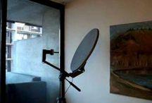 satellite dish ideas