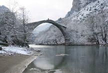 Stone bridges / Πέτρινα γεφύρια