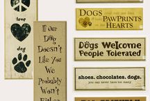 Pet Sign Ideas