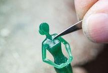 wax modeling