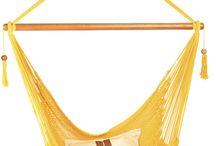 Hammocks / Beautiful hammocks and hammock chairs for stylish camping (and stylish homewares too!)