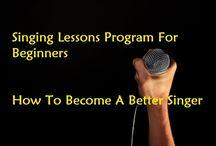 Singing Lessons Program
