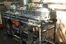Сушилки для сыпучих материалов / Оборудование для сушки сыпучих материалов