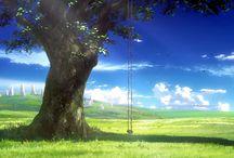 Anime/Animation Backgrounds