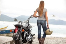 Girls & Motorcycle