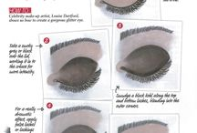 make-up tips and step-by-steps...