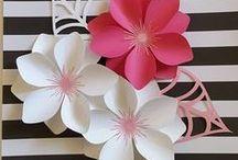 Paper Flowers & DIY Decor