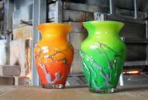 http://www.atelieruldesticla.com/433682789 /  Glass Workshop, manufacturing, unique custom glass with metal, unique decor,