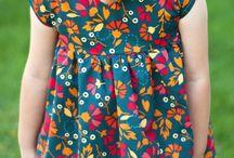 dětské oblečení-střihy