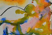art contemporain et peinture maitres