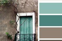 Peacock room color scheme