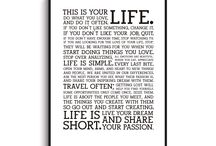 Quotes / Frases creativas, ideas para cuadros