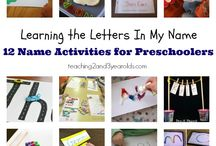 Sign in activities / by Tina Thomas