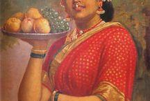raja Ravi Varna painting