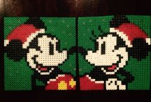 Hama Beads Mickey Mouse / Pyssel