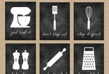 Kitchen sayings