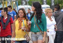 Celebración de la Fiestas Patrias de Honduras en Barcelona 2013 / Los más de 11 mil hondureños que viven en Cataluña celebraron su Fiesta Nacional en el Moll de la Marina en Barcelona.
