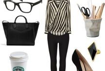 Office outfit  / by Emna Zouabi
