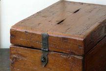 Antique wooden boxes / by Kris Thorfinnson