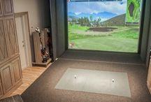 Pro Golf Simulation Room