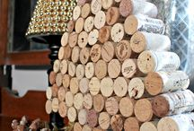 Corks / art with wine corks / by Sandra Griffin