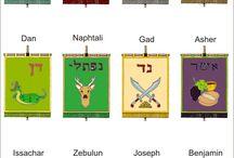Izrael 12 törzse