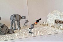 Attack on Hoth Echo Base - by Miro Dudas / Attack on Hoth Echo Base - by Miro Dudas
