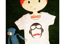 MÔMES baby onesies