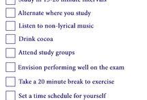 Study tips and hacks