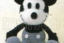 Crochet toys