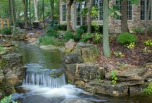 jardins  d eau et fontaine