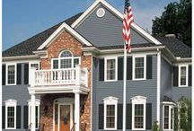 exterior house colors / by Kelly Sevier