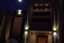 Iluminación de fachadas