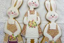 Easter cookie art...